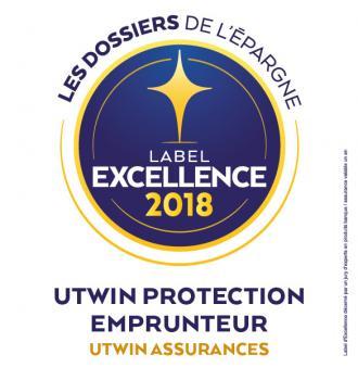 L'assurance Prêt UTWIN reçoit le label d'excellence pour la 2ème année